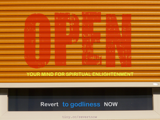 Revert to godliness now 02