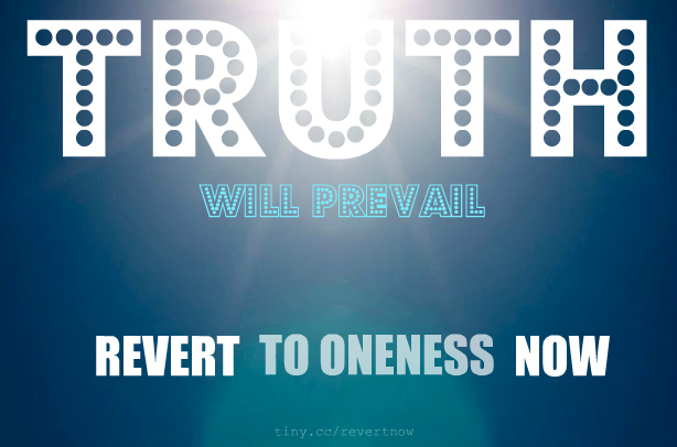 Revert to oneness now - 03