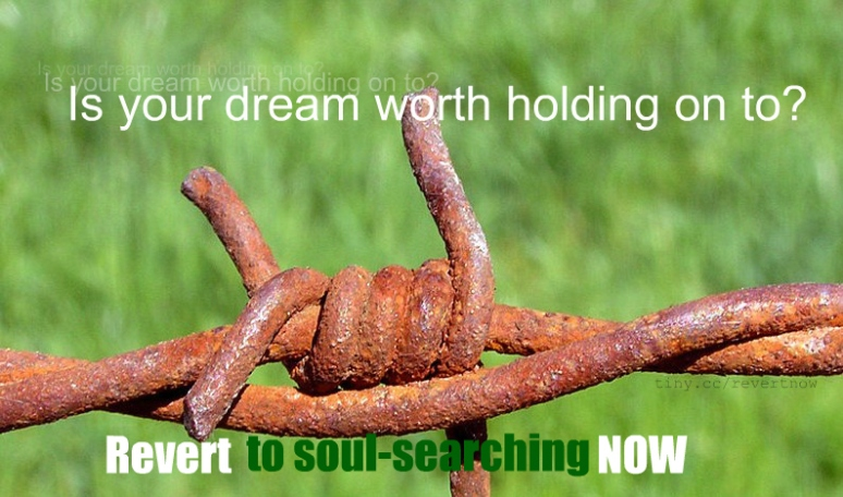 Revert to soul-searching now - 06