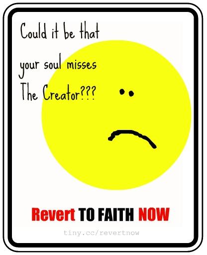 Revert to faith now - 04
