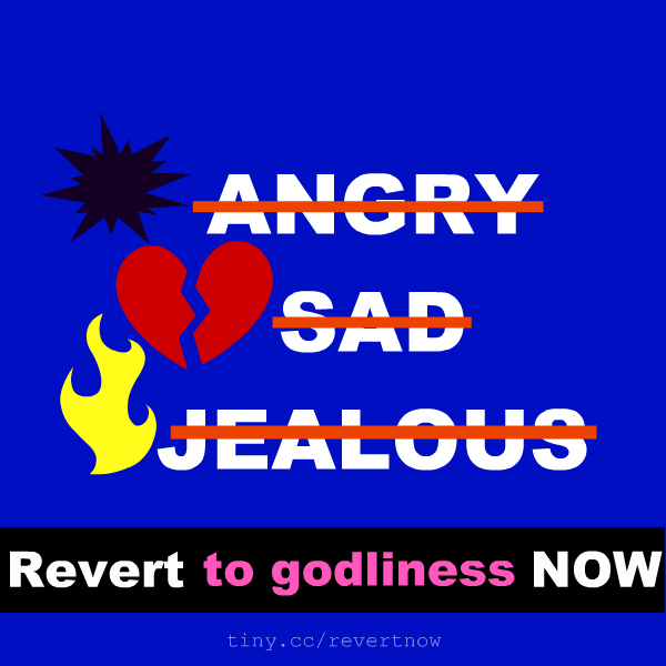 Revert to godliness now 03