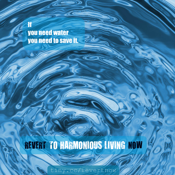 Revert to harmonious living now - 02