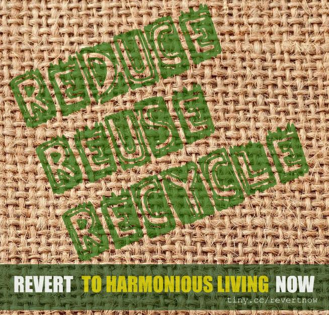 Revert to harmonious living now - 03