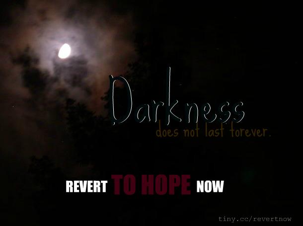 Revert to hope now - 03