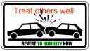 Revert to humility now - 04