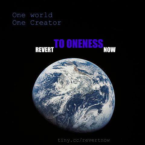 Revert to oneness now - 01