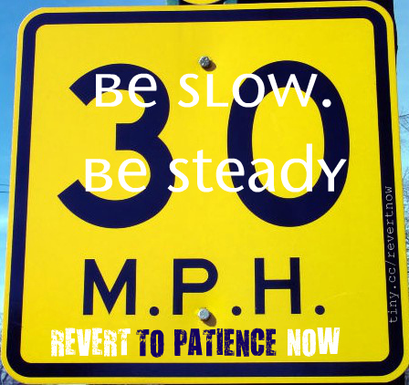 Revert to patience now - 02