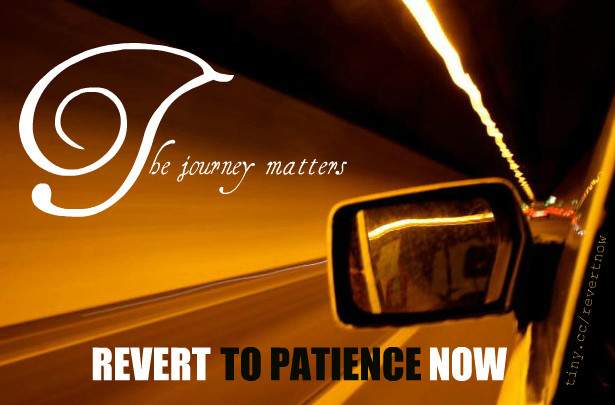 Revert to patience now - 03