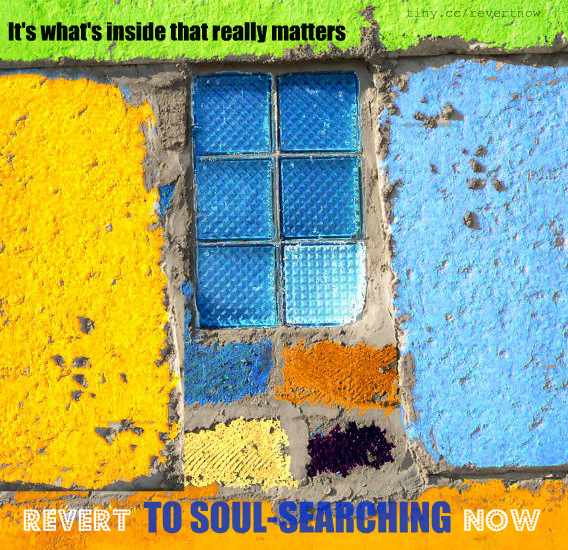 Revert to soul-searching now - 05