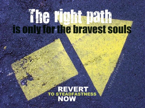 Revert to steadfastness now - 01