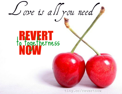 Revert to togetherness now - 01