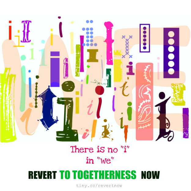 Revert to togetherness now - 02
