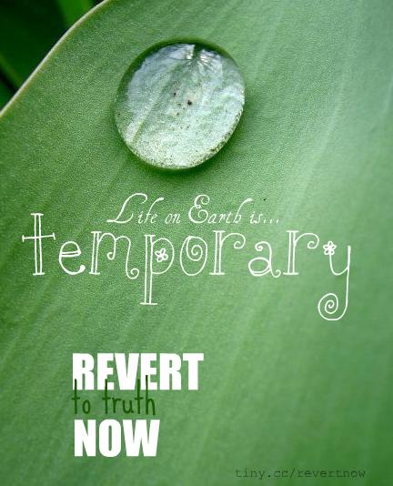 Revert to truth now - 05