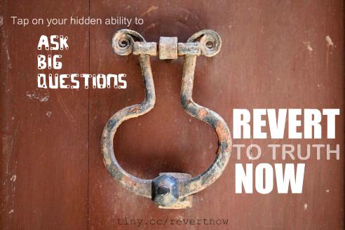 Revert to truth now - 02