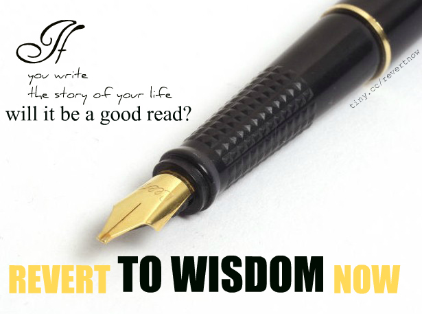 Revert to wisdom now - 03